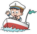 vector-illustration-of-boy-driving-boat_132190202