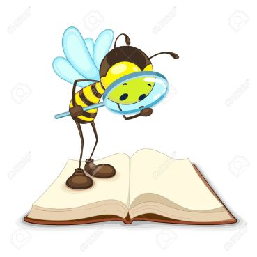 14315252-bee-searching-with-magnifying-glass-stock-vector-bee-cartoon-detective